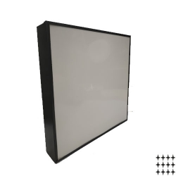 Светодиодный светильник Армстронг черный НКС 05\70-1 57 Вт.  акрил/опал