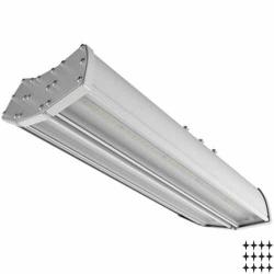 Промышленный светодиодный светильник НКС 19/180, 120Вт, полистирол/микропризма