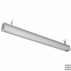 Промышленный светодиодный светильник НКС17/56 38Вт, полистирол/микропризма