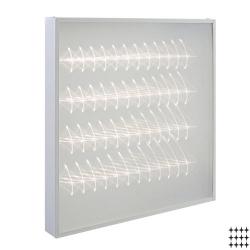 Светодиодный светильник Армстронг НКС 05\48, 38 Вт.  полистирол/микропризма